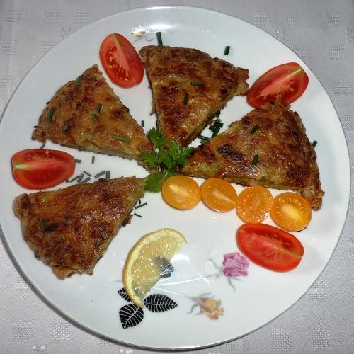 Bramborová placka - tortilla