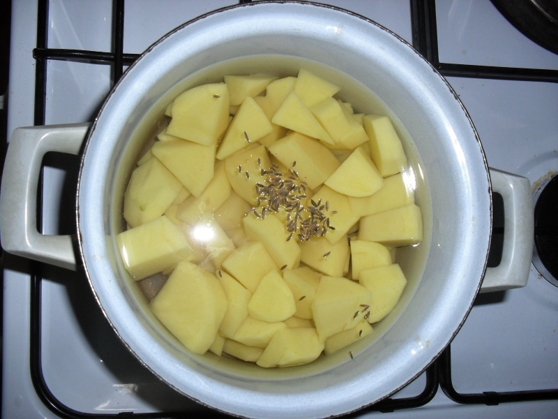 Kapr na bylinkovém másle