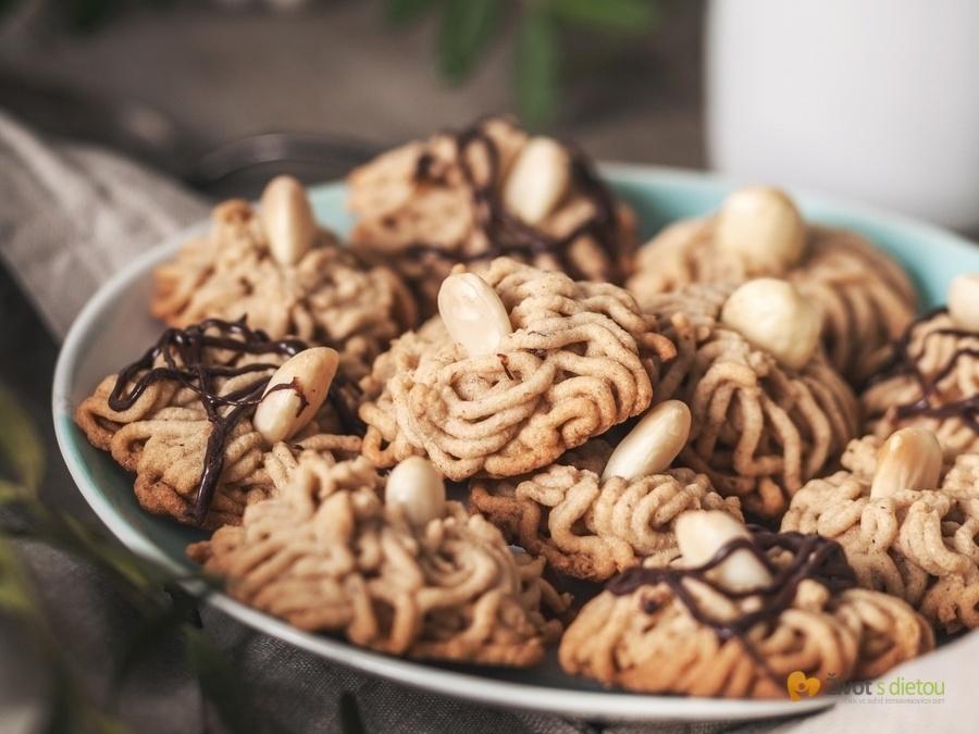 Ořechová hnízda bezlepková