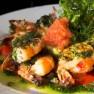 Pikantní krevety s česnekovým máslem