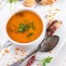 Minutková polévka z červené čočky
