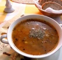 Polévka z hlívy ústřičné