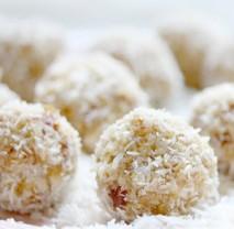 Jáhlové kokosové kuličky