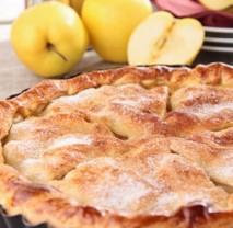 Jablečno-mandlový bezlepkový koláč