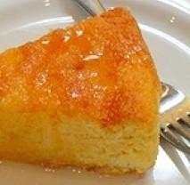 Pomerančový polentový koláč