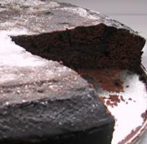 Domácí čokoládový koláč bezlepkový