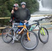 Tauernskem na kole bez lepku? Co by to nešlo!