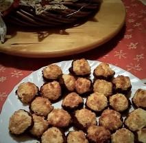 Vánoční kokosky bezlepkové