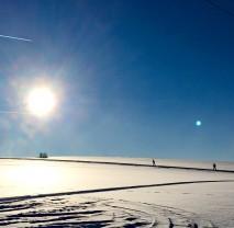 Zimní výlet na Tři Studně